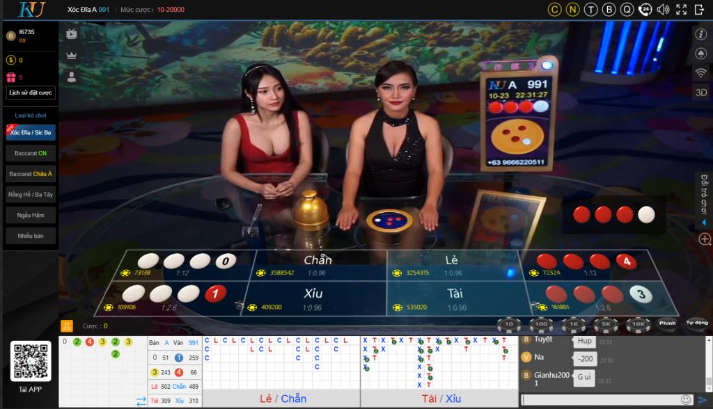 Cách chơi xóc đĩa giỏi Kubet – Đánh xanh chín luôn thắng